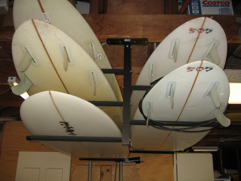 Premium Quality  Surf Racks Keep Your Boards Safe And Secure.  T-Rax are 100% Made in the U.S.A. in Southern California.