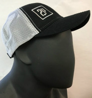 2P Trucker Hat (Black/White)