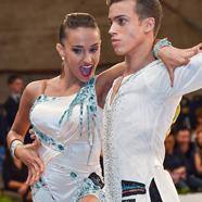 Adria Martos Serra & Katerina Paraschou - International Dance Shoes