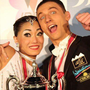 Oleksii Guzyr & Rikako Ota - International Dance Shoes