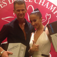 Artur Tarnavskyy & Anastasiya Danilova - International Dance Shoes