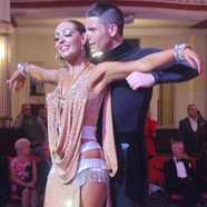 Ben Jones & Amy Dowden - International Dance Shoes