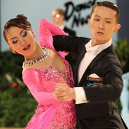 He Chong & Shan Jing - International Dance Shoes