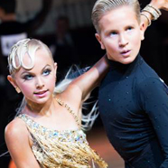 Danny Wright & Ella Perry - International Dance Shoes