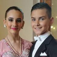 Jamie Meah & Mia Mazzitelli - International Dance Shoes