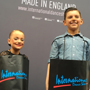 Noah Latham & Sienna-Grace Burke - International Dance Shoes