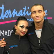 Ruslan Khisamutdinov & Lena Rabinovich - International Dance Shoes