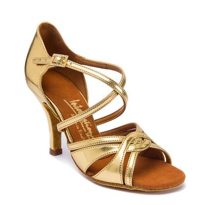 "Mia - Gold - Pictured on the 3"" Elite heel."