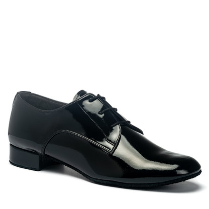 "Gibson - Black Patent - Pictured on the 1"" heel."