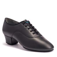 "Killick Klassik - Black Calf - Pictured on the 1.5"" heel."