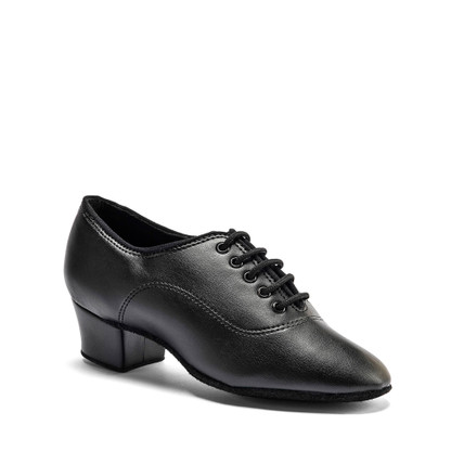 """Boys MST - Black - Pictured on the 1.5"""" heel."""