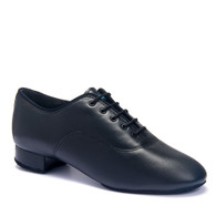 "Contra - Black Calf - Pictured on the 1"" heel."