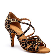 "Mia - Leopard - Pictured on the 3"" Elite heel."