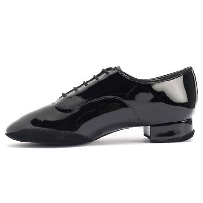 Contra Pro - Black Patent - The new sole edge on the inside of the shoe prevents sticking between the feet, smoothens the glide on the inside of the shoe and also protects the Patent for better durability.