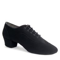 """Jones - Black Nubuck - Pictured on the 1.5"""" heel."""