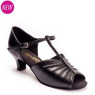 "S4017 - Black - Pictured on the 1.5"" heel."