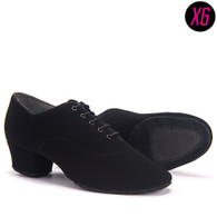"Rumba XG - Black Nubuck - Pictured on the 1.5"" heel."