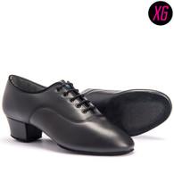 "Rumba XG - Black Calf - Pictured on the 1.5"" heel."