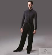 Raglan Ballroom Practice Shirt - Black