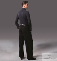 Men's Ballroom Practice Trousers - Black