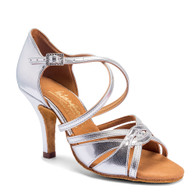 "Mia - Silver - Pictured on the 3"" Elite heel."