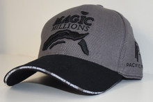 2018 Grey & Black Cap