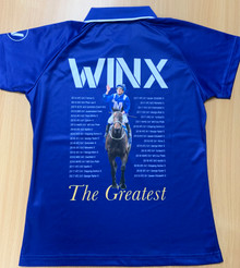 *   WINX - 'The Greatest' Commemorative Polo Shirt - Men   *
