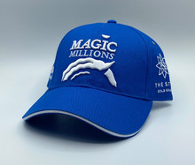 *2020 MID BLUE AND WHITE CAP