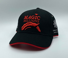 *2020 BLACK AND RED CAP