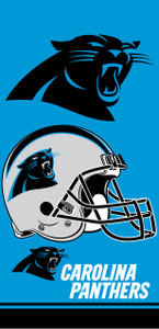 Carolina Panthers Towel