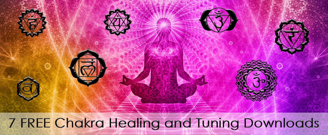 Healing meditation for 7 chakras.