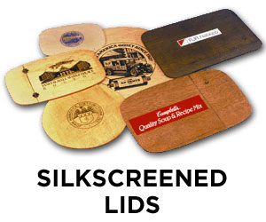 Silkscreened Lids