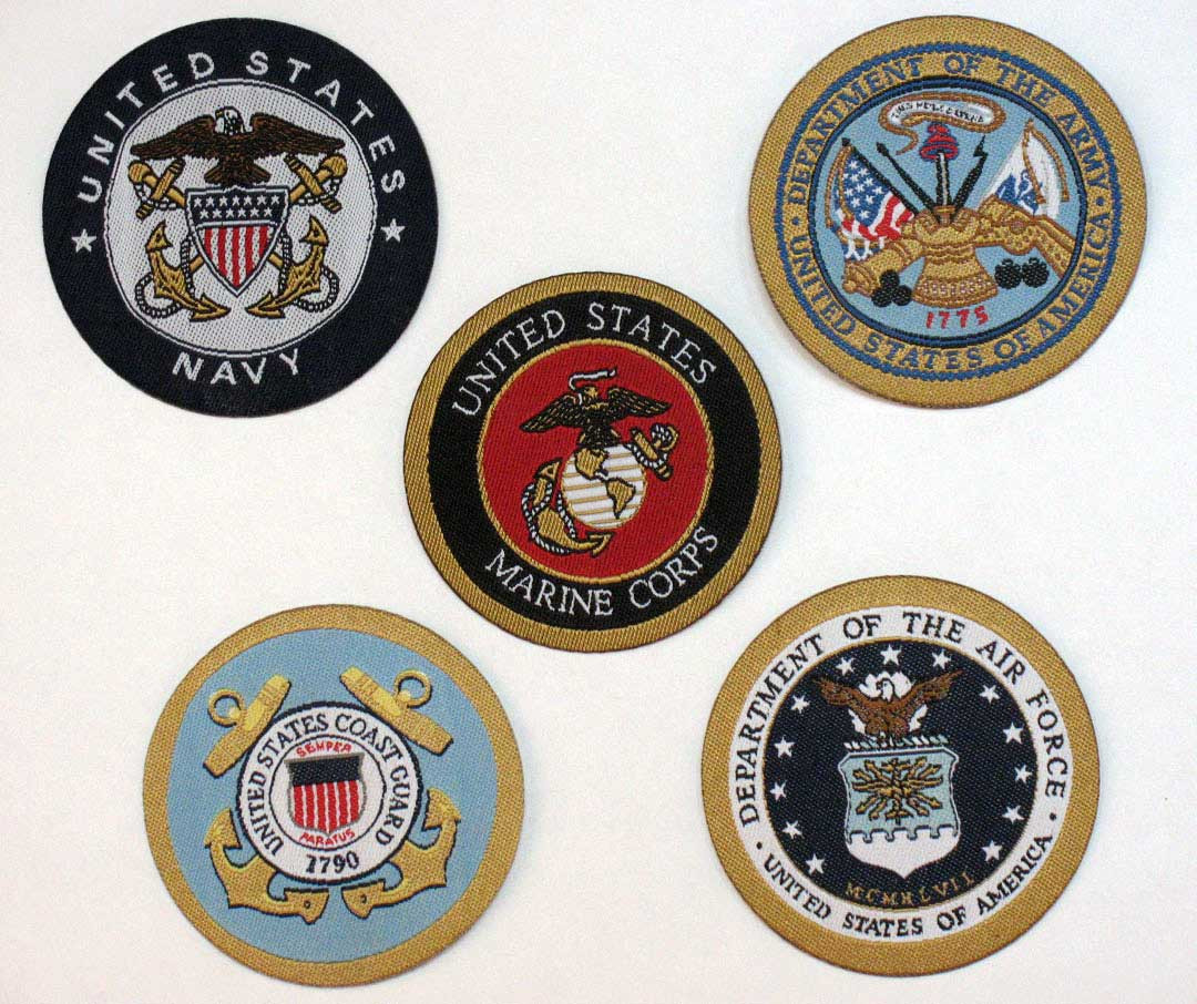 Armed Forces Patches Peterboro Basket Company