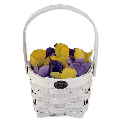Peterboro Flower Girl Basket w/Protector