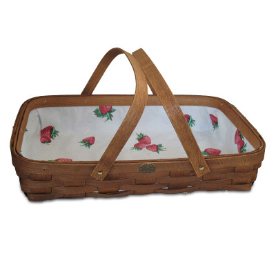 Peterboro Strawberry Patch Gathering Basket