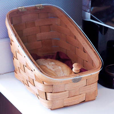 Peterboro Countertop Bread View Basket