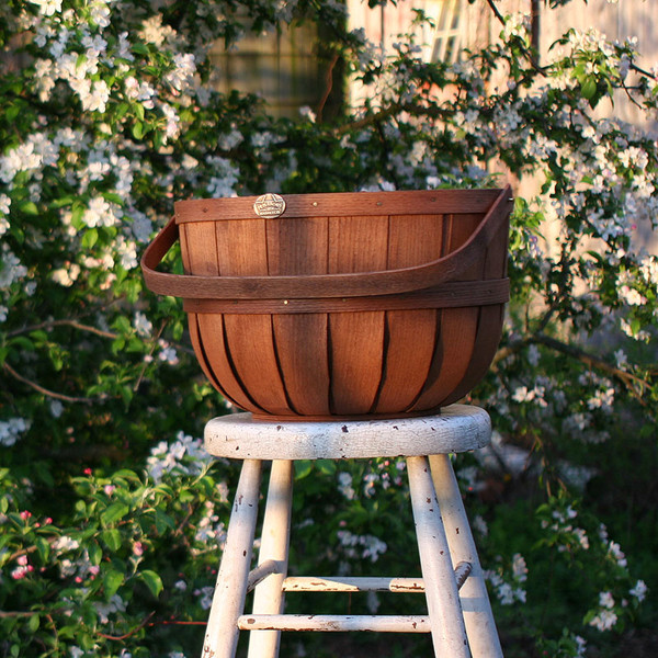 New England Half Bushel Basket at dawn