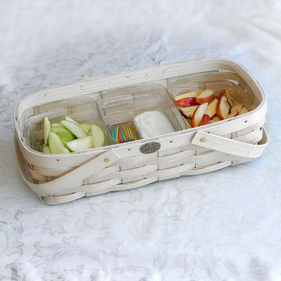 Peterboro 3 Compartment Food Safe Tote