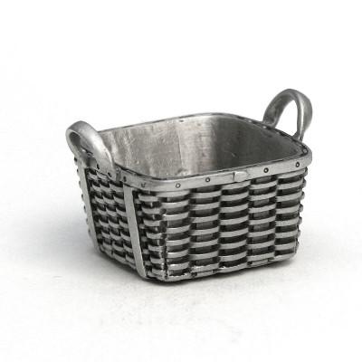Fine Pewter Peterboro Square Laundry Basket