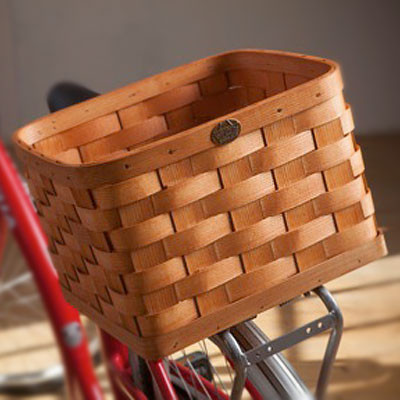 Peterboro Rear Rack Bike Basket