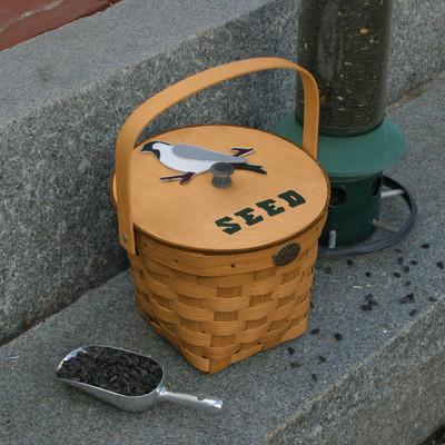 Peterboro Bird Seed Storage