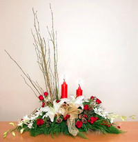 Holiday Cheer Centerpiece