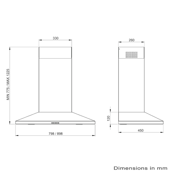 ilve-x5090-90cm-canopy-rangehood-dimension-image-standard.png