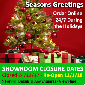Holiday Showroom Dates