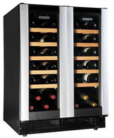 VINTEC 2 DOOR DUAL ZONE WINE CELLAR - 40 BOTTLE - AL-V40DG2E