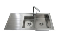 INTERCHANGE KINGSTON 1 3/4 BOWL SINK - KS1150