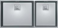 FRANKE CENTINOX 500/340 DOUBLE BOWL SINK - CMX220-50/34