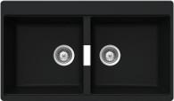 ABEY SCHOCK CRISTADUR DOUBLE BOWL SINK - N200