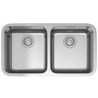 FRANKE LARGO DOUBLE BOWL UNDERMOUNT SINK - LAX120-36