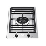 SMEG 30CM SINGLE WOK GAS COOKTOP - PGA31G